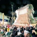 西条祭り、80台のだんじりやみこしが練り歩く