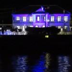 世界遺産「三角西港」築港130年でライトアップ