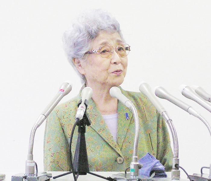 横田めぐみさんの母早紀江さん「大きいこと」