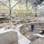 古代ローマ帝国時代の劇場が1700年ぶりに発見
