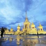 プミポン前タイ国王の火葬に向け、準備が整う