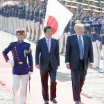 トランプ氏と安倍首相