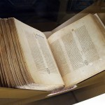 バチカン図書館から貸し出された「バチカン写本」