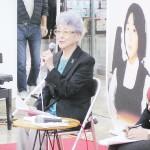 早紀江さん、拉致被害者を「自由にして」