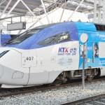 平昌行きの高速鉄道KTXが報道陣に公開