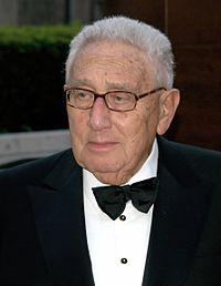 ヘンリー・キッシンジャー氏 (写真は2009年当時、Wikipediaより)