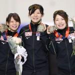 団体追い抜きで日本女子、三たび世界新をマーク