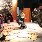 生き物になって学ぼう、生態を体験する企画展