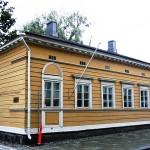 首都ヘルシンキの北100kmの都市ハメーンリンナにあるシベリウスが誕生した家