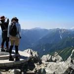 立山主峰・雄山(3003m)の三角点