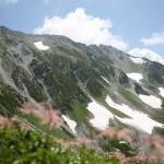 大走りから見返した立山連峰