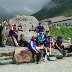 室堂では韓国、台湾などからの登山者・観光客を多く見かける
