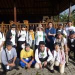 日本からの参加者たち。中列の右端が小林久人リポーター