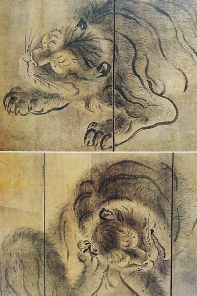 動物画にみる長谷川等伯の世界
