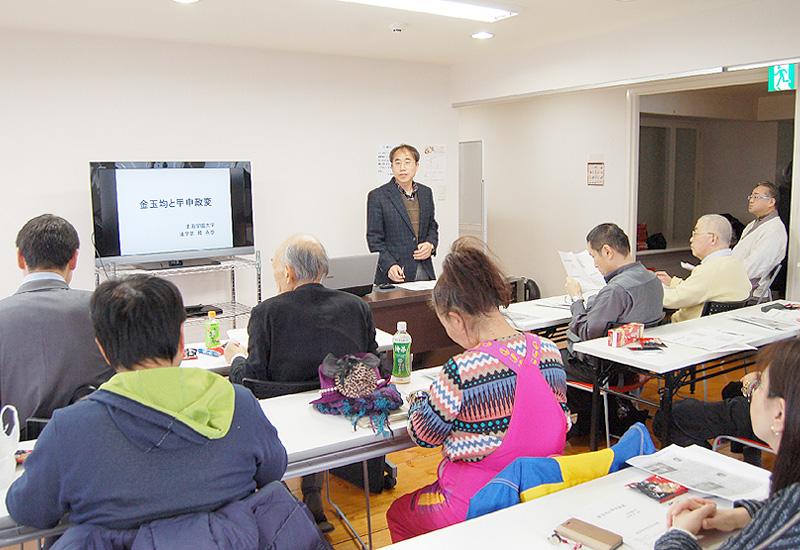日韓の理解・融和を願い、札幌市で講演会