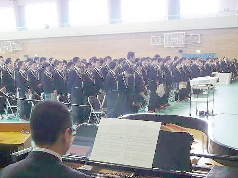 新設の福島県立「ふたば未来学園高」開校