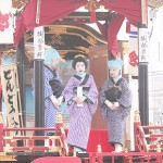 250年の伝統息づく曳山子供歌舞伎