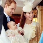 ジョージ英王子の洗礼式執り行う