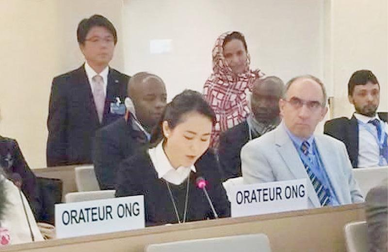 国連人権理事会での翁長沖縄県知事の発言に政府ら反論