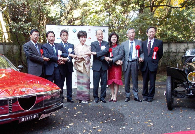 「謝謝台湾」クラシックカー60台で台湾一周
