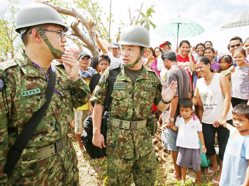 自衛隊本隊がフィリピンで本格始動