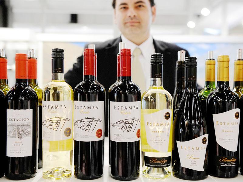 「高級ワインもあります」