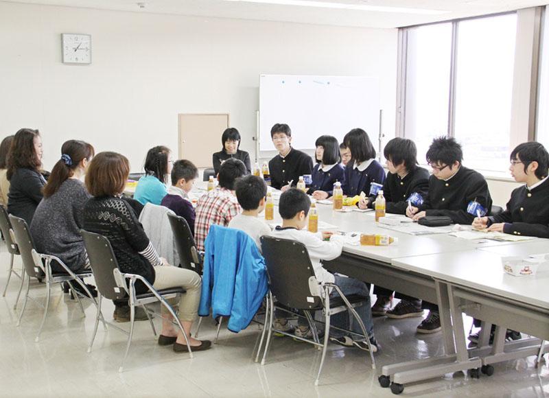 滋賀の高校生が学校新聞で「福島をつなぐ」