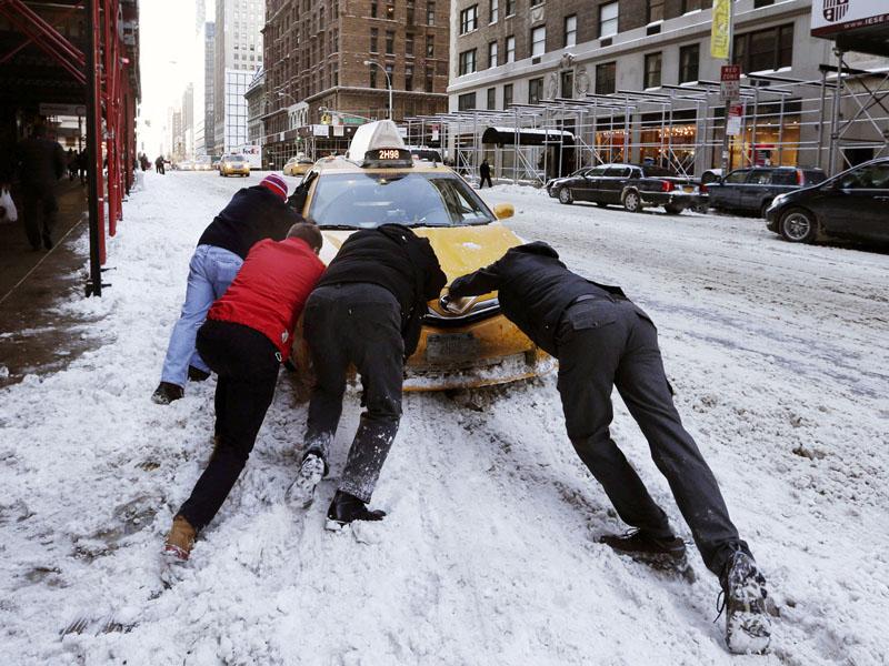 米中西部ミネソタ州で氷点下38度を記録