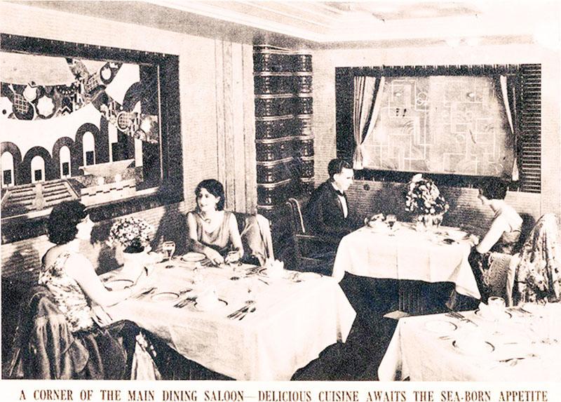 1930年代のレトロで豪華なディナーを再現へ