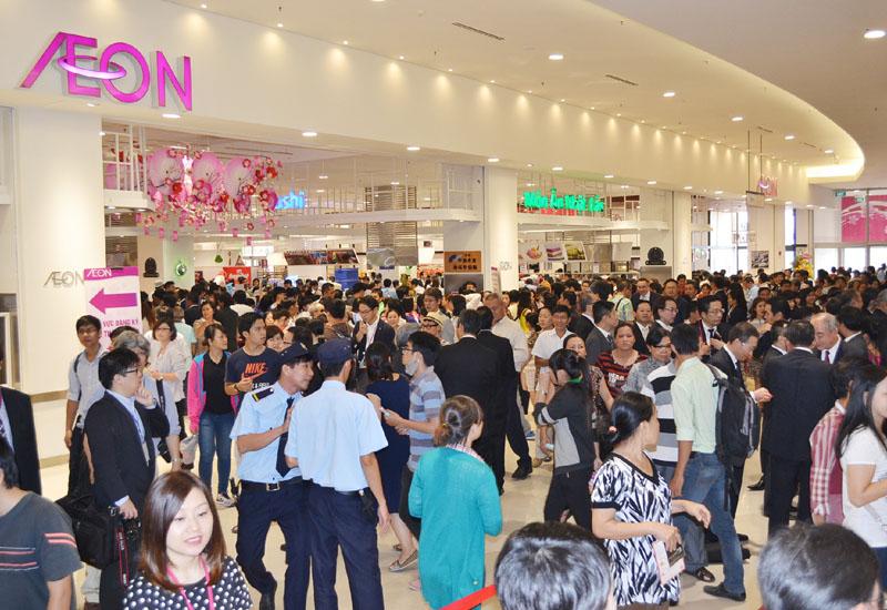 イオン、地域最大規模のベトナム1号店オープン