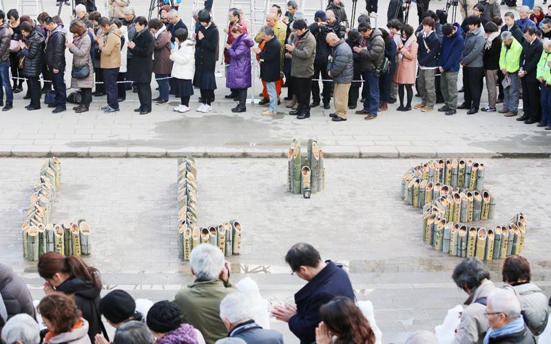 阪神大震災から19年、「忘れない」心に刻む
