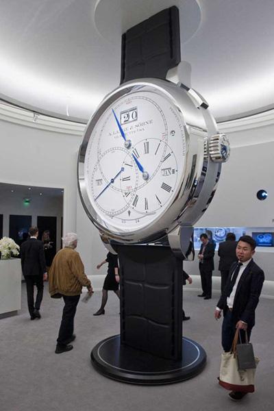 ジュネーブで国際高級時計展、一番の目玉?