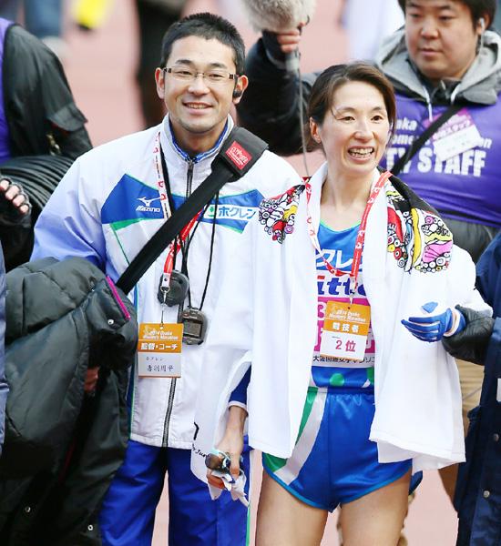 赤羽有紀子選手、世界を駆けた「ママさん」