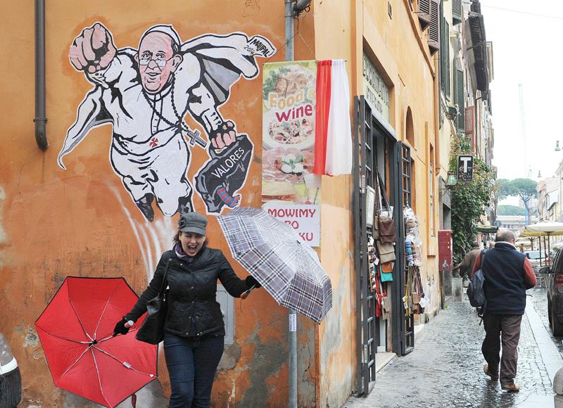 フランシスコ・ローマ法王はスーパーマン?