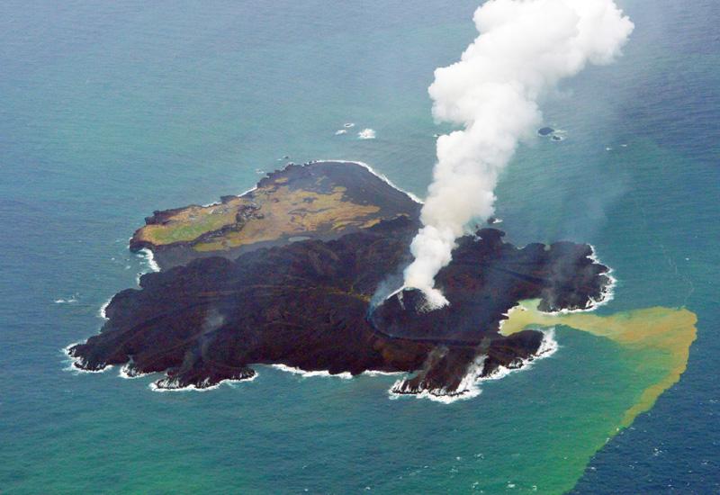 海保発表、西之島が東京ドーム13個分の広さに