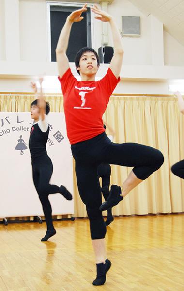 バレエは人生、努力すれば夢はか...