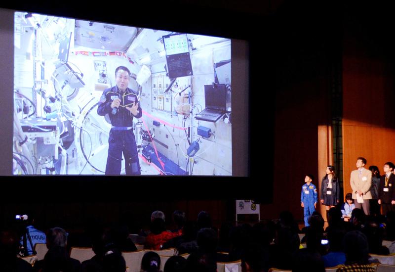 福岡県と九州大学、ISSの若田光一さんと交信