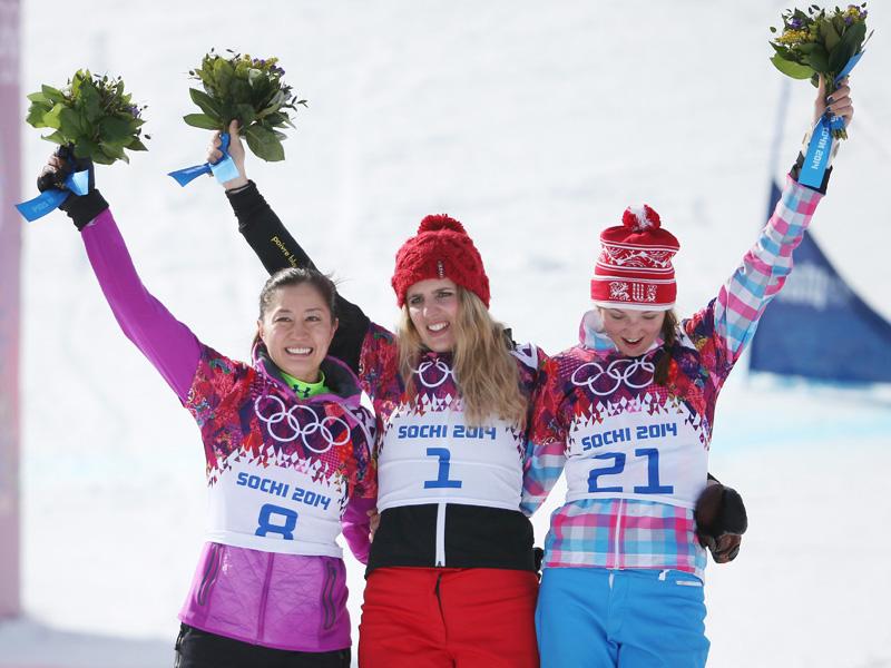 スノーボードの竹内智香選手、実力通り銀メダル