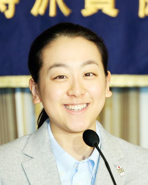 浅田真央、日本外国特派員協会で記者会見