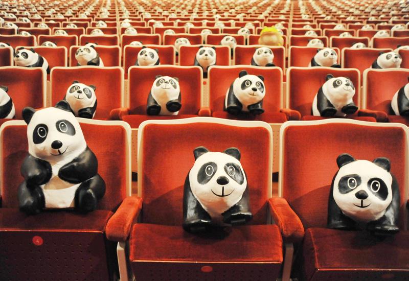 「パンダ・オン・ツアー」、観客は1600頭!?