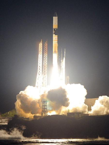 降水観測衛星搭載H2Aロケット、打ち上げ成功