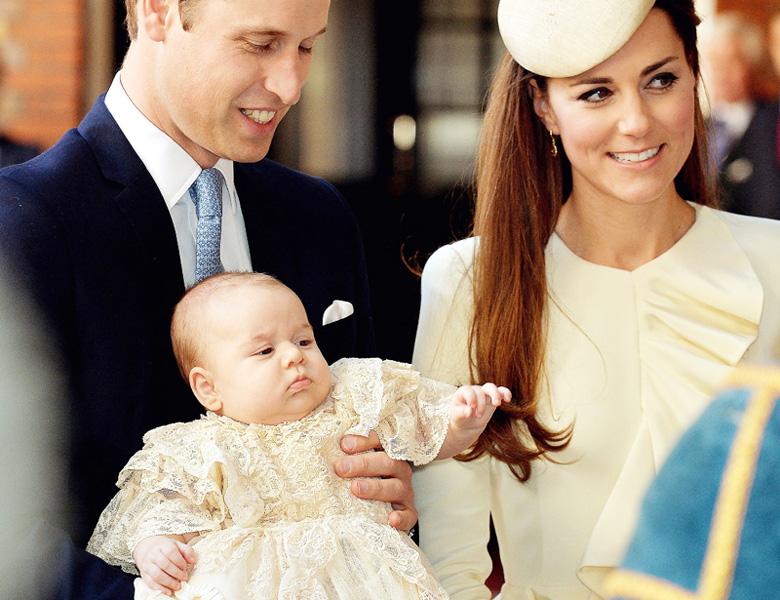 ジョージ英王子、来月に初の「外遊」