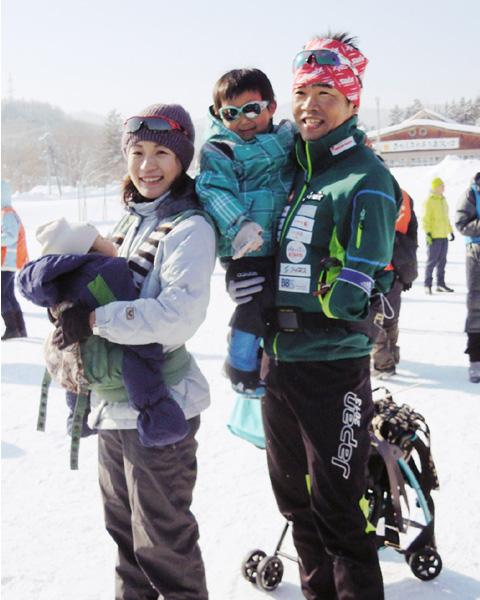 距離スキー立位の新田佳浩、新しい家族のために