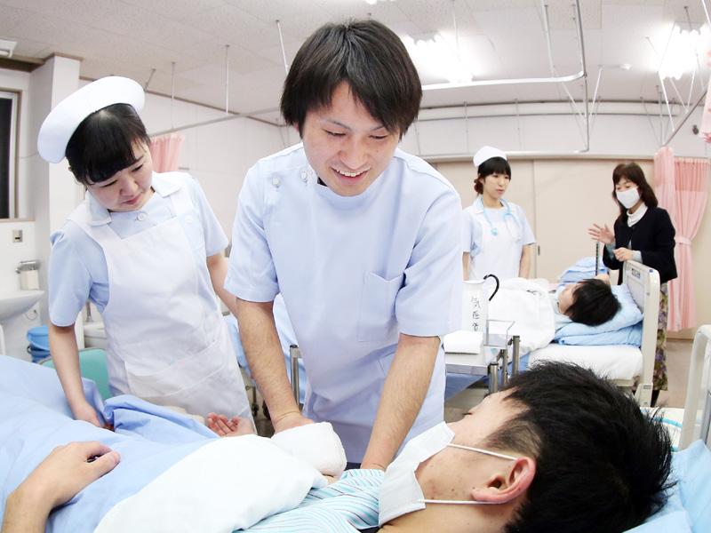 宮城の後藤涼佑さん「母のような看護師に」