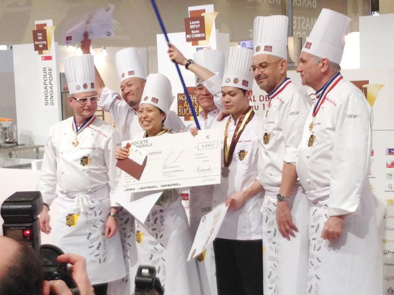 日本チームが「国際製菓大会」で2位