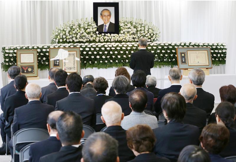 小野田寛郎さん、靖国神社でお別れ会を営む
