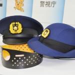 衝撃に強い新型制帽、警視庁が試験導入