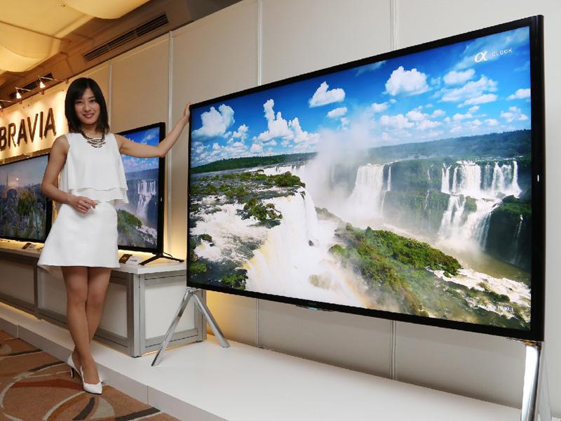 ソニー、4K液晶テレビ「ブラビア」の新製品発売
