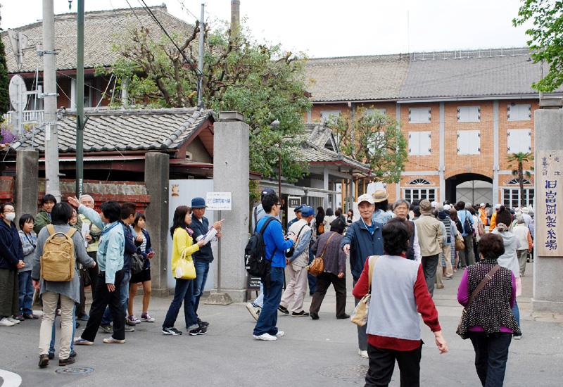 「世界遺産」で富岡製糸場、観光浮揚へ高まる期待