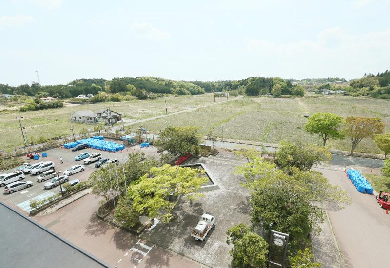 福島県双葉町が帰還困難区域の役場を公開